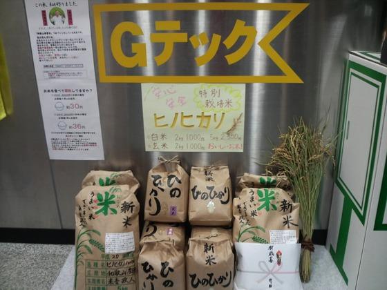 激安!有機栽培のお米:ヒノヒカリ(白米・玄米)
